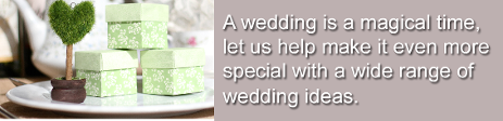 Weddings  - P and S Adams Occasions - Wedding Favours and Gifts